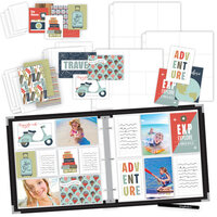 Scrapbook.com - TravelVacation Easy Albums Kit with Black Album