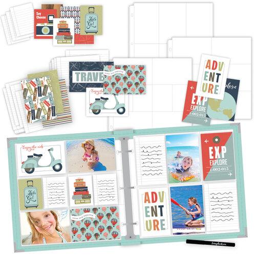 Scrapbook.com - TravelVacation Easy Albums Kit with Mint Album