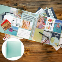 Scrapbook.com - TravelVacation Easy Albums Kit with Mint Album