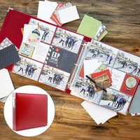 Travel/Vacation Easy Albums Kit with Red Album