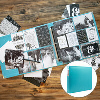 Wedding Easy Albums Kit with Aqua Album