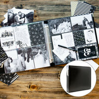 Wedding Easy Albums Kit with Black Album