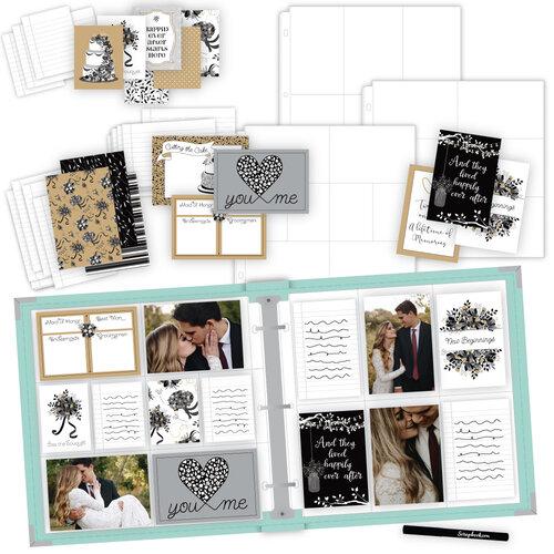 Scrapbook.com - Wedding Easy Albums Kit with Mint Album