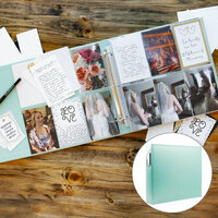 Scrapbook.com - Wedding Easy Albums Kit with Mint Album