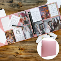 Scrapbook.com - Wedding Easy Albums Kit with Pink Album