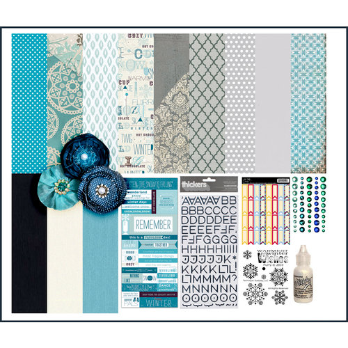 Scrapbook.com Kit Club - Winter Wonderland