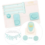 We R Memory Keepers - Alphabet Board and Link Punch Kit