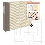 We R Memory Keepers - Teresa Collins - Albums Made Easy - Album Kit - Hello Life (Scrapbook.com Exclusive)
