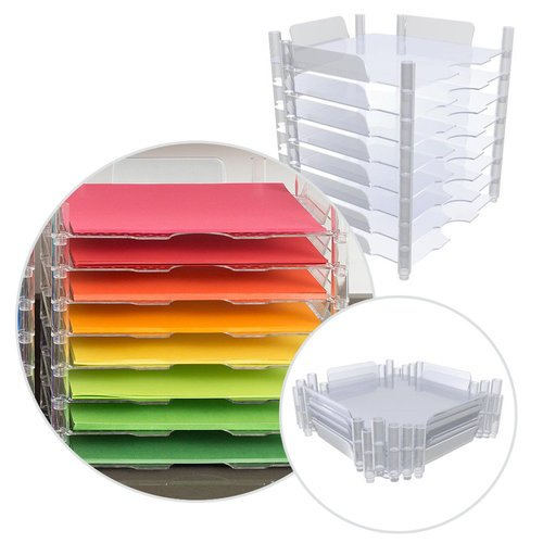 We R Memory Keepers - Stackable Paper Trays - 8 Pack