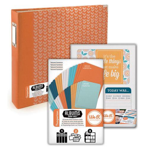 Scrapbook.com - Albums Made Easy - Tangerine Kit