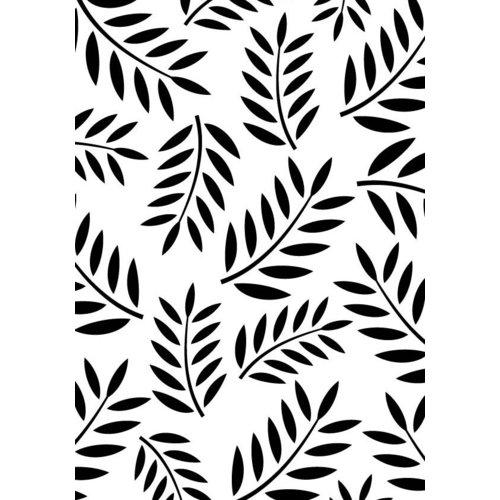 Gina Marie - Embossing Folder - 4 x 6 - Fern Leaf