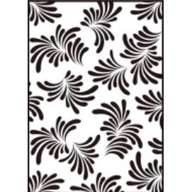 Gina Marie - Embossing Folder - 4 x 6 - Leafy