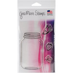 Gina Marie - Clear Acrylic Stamps - Jar
