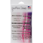 Gina Marie - Clear Acrylic Stamps - Christmas