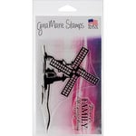Gina Marie - Clear Acrylic Stamps - Windmill