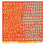 Studio Calico - Documentary Collection - 12 x 12 Cardstock Stickers - Alphabet