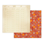 Studio Calico - Documentary Collection - 12 x 12 Double Sided Paper - Itinerary