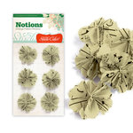 Studio Calico - Elementary Collection - Notions - Vintage Pattern Flowers, CLEARANCE