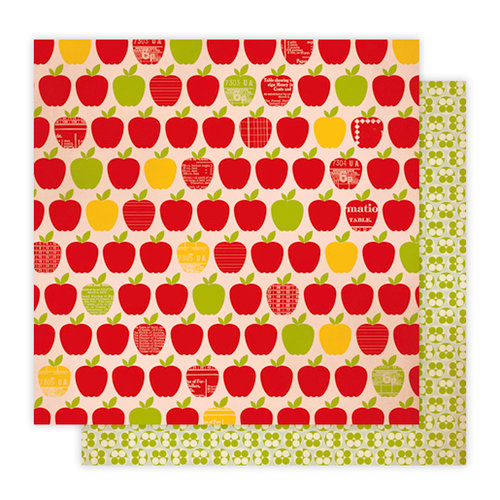 Studio Calico - Elementary Collection - 12 x 12 Double Sided Paper - Nibbles, CLEARANCE