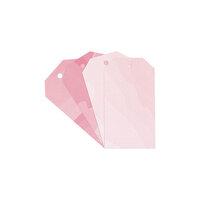 Studio Calico - Color Theory - Watercolor Tags - Flamingo and Pink Lemonade
