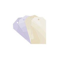 Studio Calico - Color Theory - Watercolor Tags - Lavender Soda and Creme Brulee