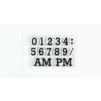 Ali Edwards - Clear Photopolymer Stamps - Number Set