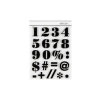 Studio Calico - Clear Photopolymer Stamps - Jack Numbers