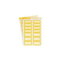 Studio Calico - Color Theory - Label Sticker - Lemon Zest Scallop