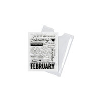 Studio Calico - Clear Photopolymer Stamps - February