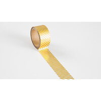 Ali Edwards - Washi Tape - Gold Foil Striped