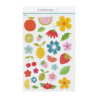 Kingston Crafts - Puffy Stickers