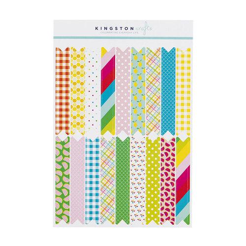 Kingston Crafts - Stickers - Washi Pennant Flag