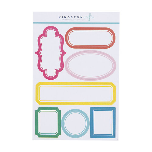 Kingston Crafts - Stickers - Labels