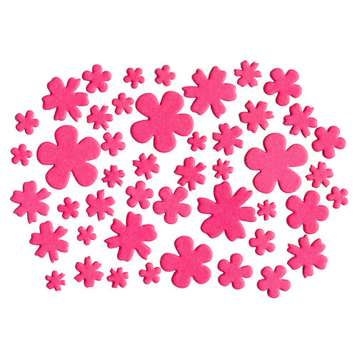 Kingston Crafts - Chipboard Shapes - Flowers - Flamingo