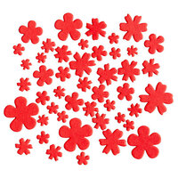 Kingston Crafts - Chipboard Shapes - Flowers - Poppy