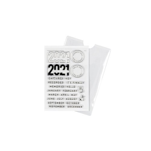 Studio Calico - Clear Photopolymer Stamps - 2021 Documenting