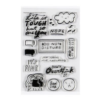 Studio Calico - Clear Photopolymer Stamps - Bad Day