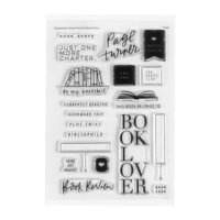 Studio Calico - Clear Photopolymer Stamps - Page Turner