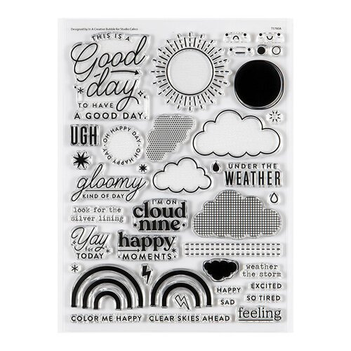 Studio Calico - Clear Photopolymer Stamps - Sunshine