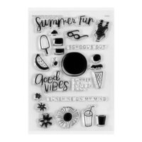Studio Calico - Clear Photopolymer Stamps - Summer