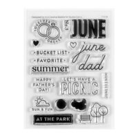 Studio Calico - Clear Photopolymer Stamps - June