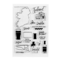 Studio Calico - Clear Photopolymer Stamps - Ireland
