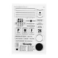 Studio Calico - Clear Photopolymer Stamps - Observations