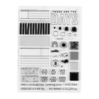 Studio Calico - Clear Photopolymer Stamps - These Are The Days