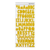 Studio Calico - Avery Alpha Sticker - Lemon Zest