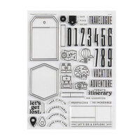 Studio Calico - Clear Photopolymer Stamps - Travel