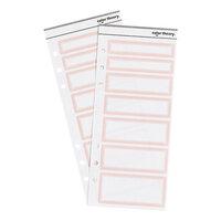Studio Calico - Color Theory - Label Sticker - Pink Lemonade