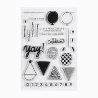 Studio Calico - Clear Photopolymer Stamps - Birthday