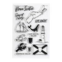Studio Calico - Clear Photopolymer Stamps - Nova Scotia