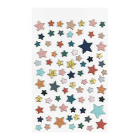 Studio Calico - Chipboard Stickers - Wild & Free Stars